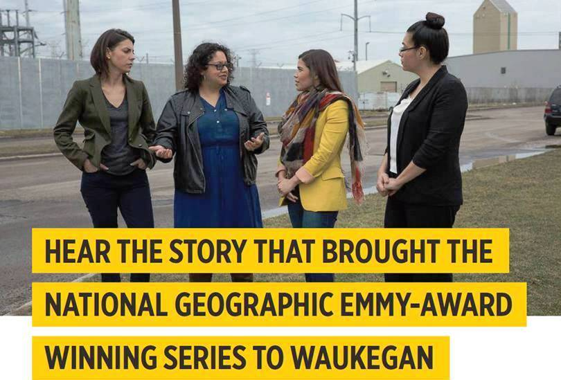 On December 4, 2016, you can hear the story that brought an Emmy Award-winning National Geographic series to Waukegan. [National Geographic/Years of Living Dangerously photo ]