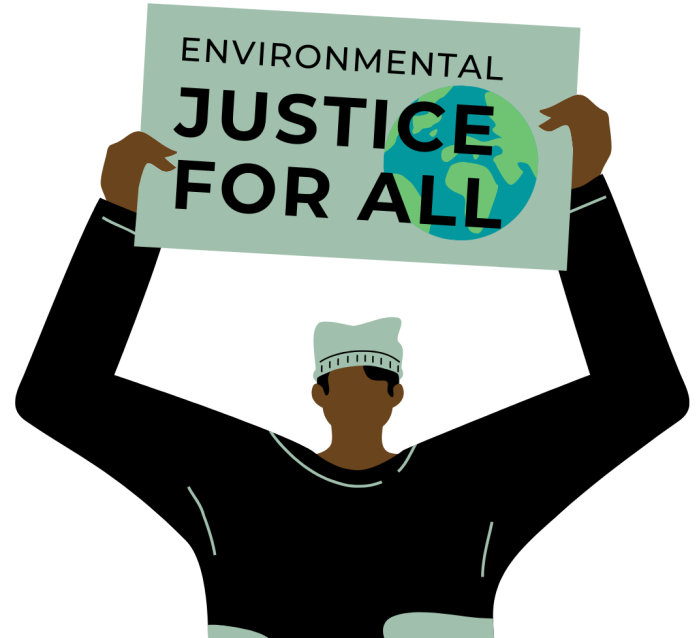 Environmental justice for all.